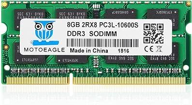 Motoeagle DDR3 1333 PC3 10600S 8GB DDR3 1333MHz PC3-10600 204-pin SODIMM 1.35V Laptop Memory