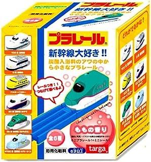 【6個セット】プラレール炭酸入浴料 ミニプラレールおまけ付き ももの香り