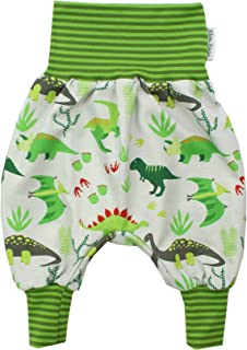 Kleine K/önige Pumphose Baby Jungen Hose /· Modell Winter Fuchs und Hase gr/ün Aqua /· /Ökotex 100 Zertifiziert /· Gr/ö/ßen 50-128