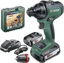 Bosch AdvancedDrill 18 Taladro/Atornillador a batería, en maletín de transporte, 18 V, Verde, 2 baterías