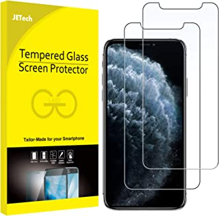 JETech Screen Protector for Apple iPhone 11 Pro, iPhone Xs and iPhone X 5.8-Inch, Tempered Glass Film, 2-Pack