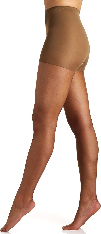 Berkshire womens Ultra Sheer Control Top Sandalfoot Pantyhose 4415