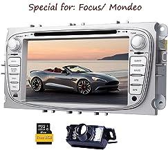 C¨¢mara Trasera Eincar Incluye !!! para Ford Focus Mondeo (a?o de Soporte Antes de 2012) de 7 Pulgadas Indash Coches Reproductor de DVD GPS Navi iPod EST¨¦reo Bluetooth Tarjeta de 8GB Pantalla t¨¢