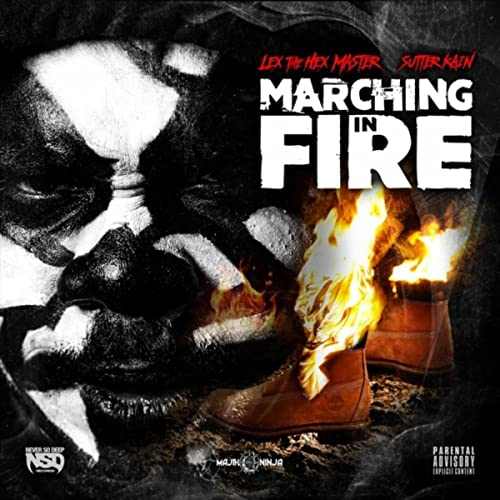 Amazon.com: Marching in Fire [Explicit]: Lex the Hex Master ...