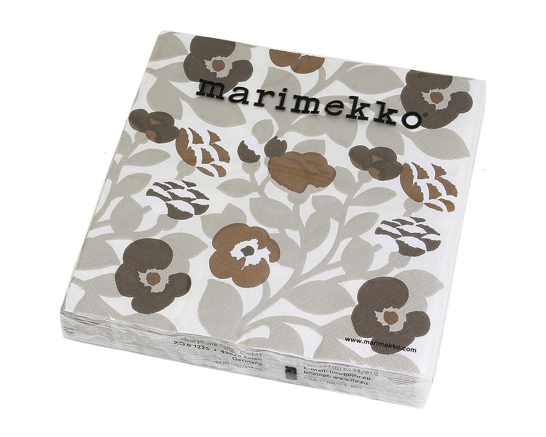 中古ねばねばアンソロジーマリメッコ(marimekko) ペーパーナプキン グリーングリーン クリーム 33x33cm 20枚入り GREEN GREEN 720763 [並行輸入品]