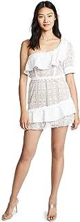 For Love & Lemons Women's Lovebird Lace Mini Dress