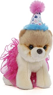 GUND Itty Bitty Boo #027 Birthday Tutu Dog Stuffed Animal Plush, 5
