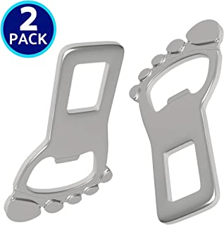 2 Pack | Bottle Opener Metal Buckle Clip, Multitool for Key Ring or Car Keychain Novelty | by journeyxl