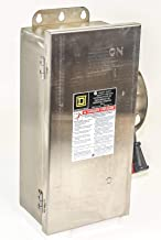 SQUARE D H361DS BU 30A 600V 3P 3Ph N4X Fused USED