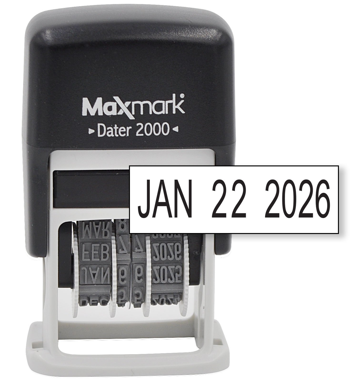 MaxMark Dater Inking Small Stamp