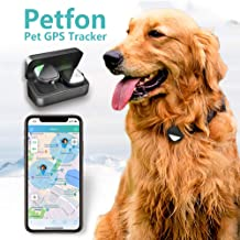 PetFon Pet GPS Tracker, No Monthly Fee, Real-Time Tracking Collar Device, APP Control for..