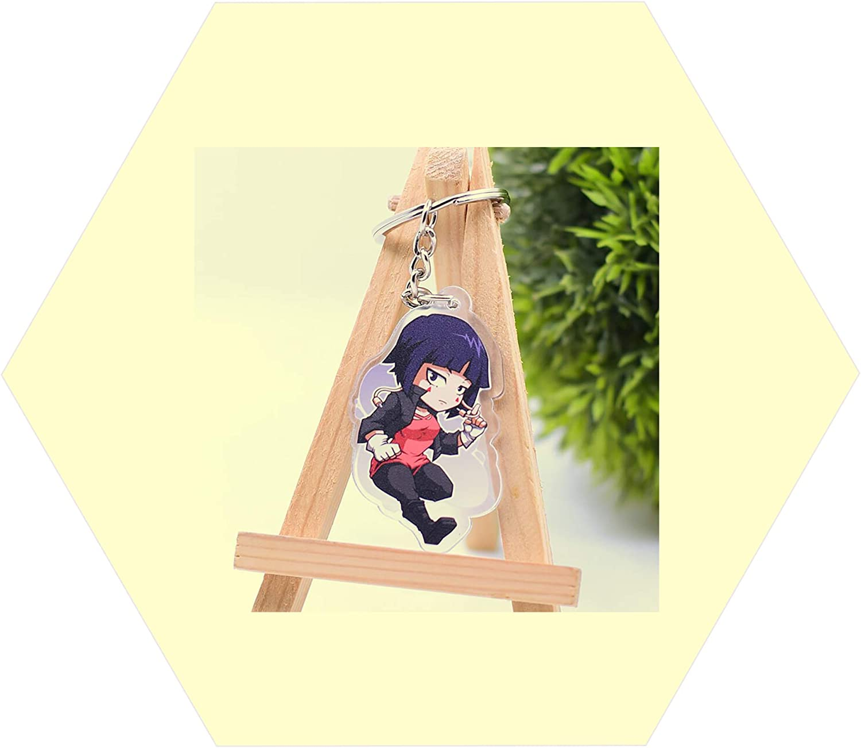 Keychain For Kyouka Jirou My Hero Academia Anime Accessories Keyring Car Keys 01pc