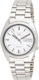Seiko 5 Men's Mechanical Watch Silver SNXF05K1