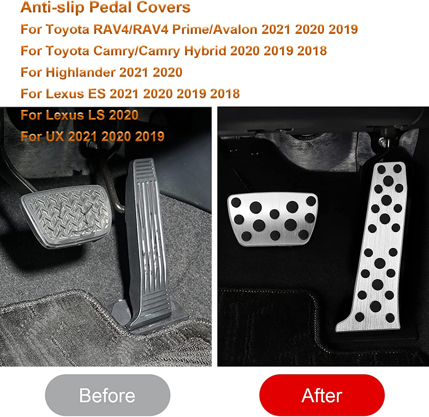 Interior Accessories Took09 Brake Pedal and Accelerator Pedal ...
