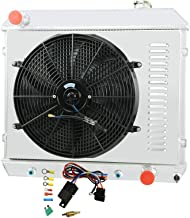 CoolingCare 3 Row Aluminum Radiator +16 Inches Fan w/Shroud for Chevy C/K Series 10 20 30 Pickup Truck &Many GM Models 196...