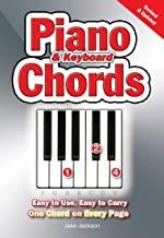 Piano & Keyboard Chords: Easy-to-Use, Easy-to-Carry, One Chord on Every Page (English Edition)