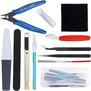 WiMas 12 Pièces Modeler Basic Tools Kit, Gundam Modèle Outils Kit, Hobby Building Craft Set pour la Construction du Modèle...