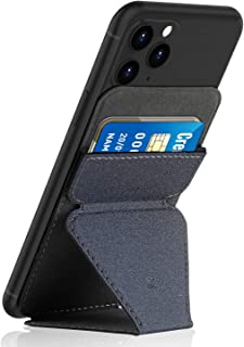 Cell Phone Stand, Roysmart Invisible and Foldaway Stand for Phone, Ultra-Light Phone Card Holder, The Thinnest Vertical Ph...