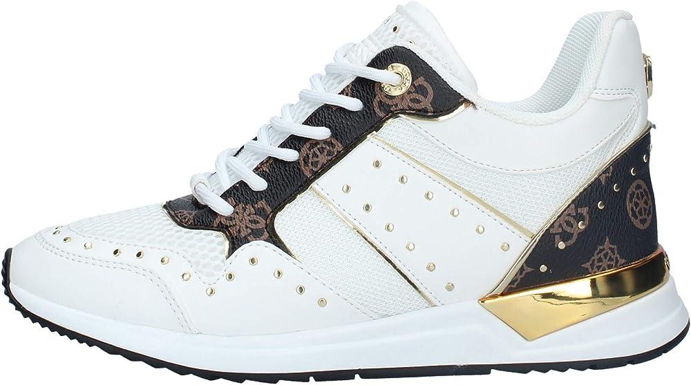 Guess,sneakers in eco pelle e tessuto  da donna,scarpe per donna VJ23GUESS865