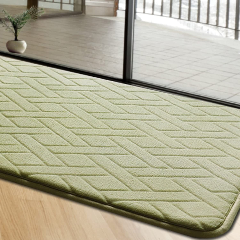 Kitchen oil absorption strip mats bathroom living room door mats water absorption non-slip mat-J 50x160cm(20x63inch)