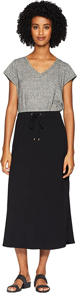 Viscose Jersey Drawstring Skirt
