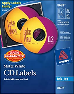 Best avery cd stickers Reviews