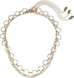 Steve Madden - Three-Piece Chain Choker Set