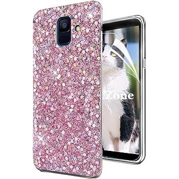 OKZone Funda Samsung Galaxy A6 2018, Cárcasa Brilla Glitter Brillante TPU Silicona Parachoque Teléfono Smartphone Case [Protección a Pantalla y Cámara] para Samsung Galaxy A6 2018 (Rosado): Amazon.es: Electrónica