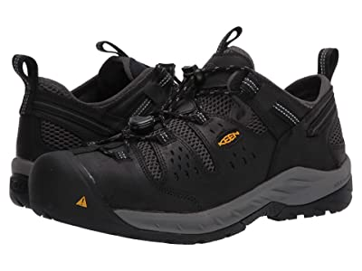 Keen Utility Atlanta Cool II (Steel Toe) (Black/Dark Shadow) Men