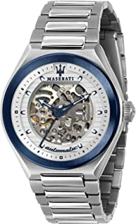 Maserati triconic Mens Analog Automatic Watch with Stainless Steel bracelet R8823139002