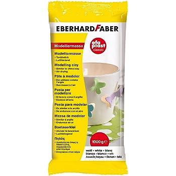 wei/ß Eberhard Faber 570101 Modelliermasse EFAPlast classic 1 kg 5er Pack