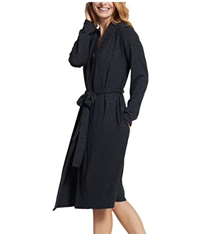 Yummie Plus Size Midi Robe (Black) Women