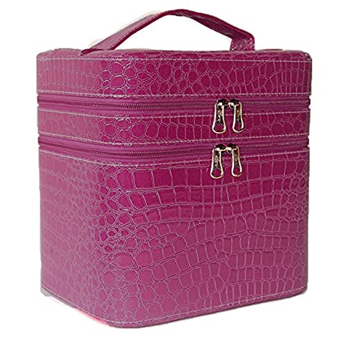 a0a440a8abec04 Bestland PU Beauty Box Make Up Case Cosmetic Box Hand Bag Storage Box  Vanity Case With