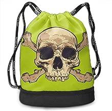 Nyanhif Fashion Human Skull Vector Art Bundle Backpack For Female Black 48