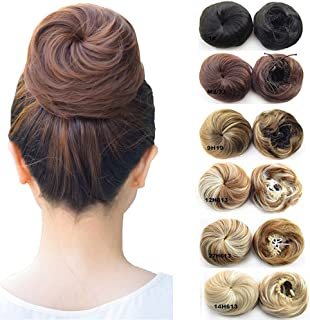 Updo Hairpiece Hair Ponytail Extensions Hair Extensions Scrunchy Bun Wavy Curly Messy Hair Bun Extensions Donut Hair Chignons Hair Piece Wig #9H19