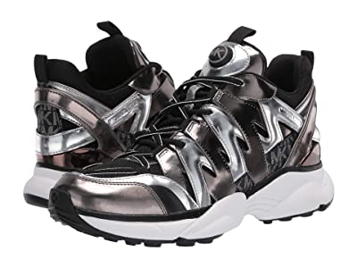 MICHAEL Michael Kors Hero Trainer (Black/Silver) Women