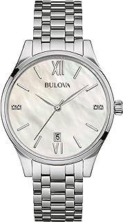 Bulova - Reloj de cuarzo Bulova para mujer, con esfera Mother Of Pearl, analógico
