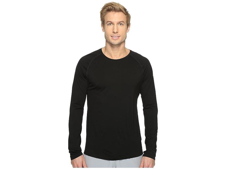 Smartwool Merino 150 Baselayer Long Sleeve (Black) Men