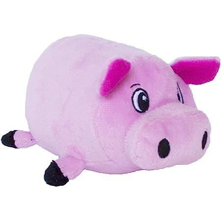 Fattiez Round Squeaky Plush Toy by Outward Hound