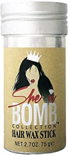 She Is Bomb Collection Hair Wax Stick 2.7 Oz.