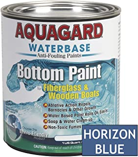 Aquaguard Waterbase Anti-Fouling Bottom Paint, Quart