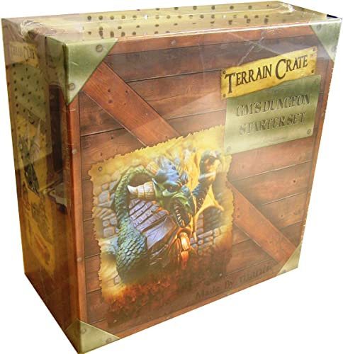 Mantic Games MGTC0101 TerrainCrate  GMS Dungeon Starter Set, Multi
