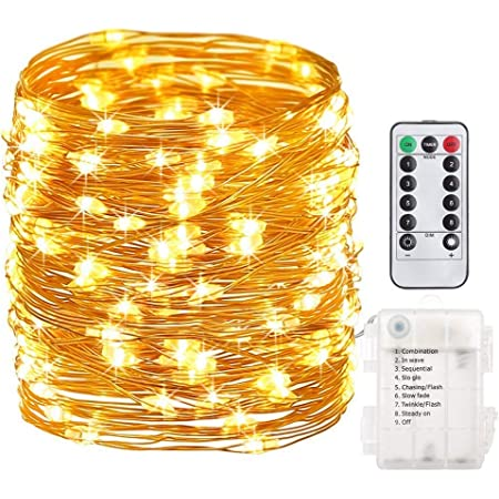 Fairy String Lights 50-2000 LED Clear Cable for Christmas Tree Indoor /& Outdoor