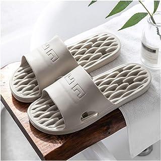 YAOLUU Summer Slippers Casas de baño Zapatillas de baño de Verano para Hombres y Mujeres Sandalias y Zapatillas Flat Slipp...