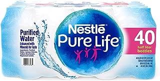 Nestle Pure Life Purified Water (16.9 oz. bottles, 40 pk.)vevo