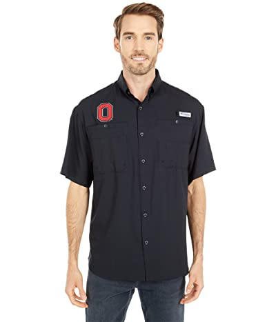 Columbia College Ohio State Buckeyes Tamiamitm Short Sleeve Shirt (Black) Men