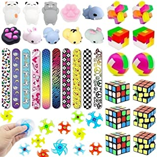 Fun Kids Toys, Party Favors, Birthday Party Toys Assortment, Goody Bag Favors, Classroom Rewards, Carnival Prizes, Pinata Filler, Treasure Box, Party Prizes, Goodie Bag Fillers (40 Pack)