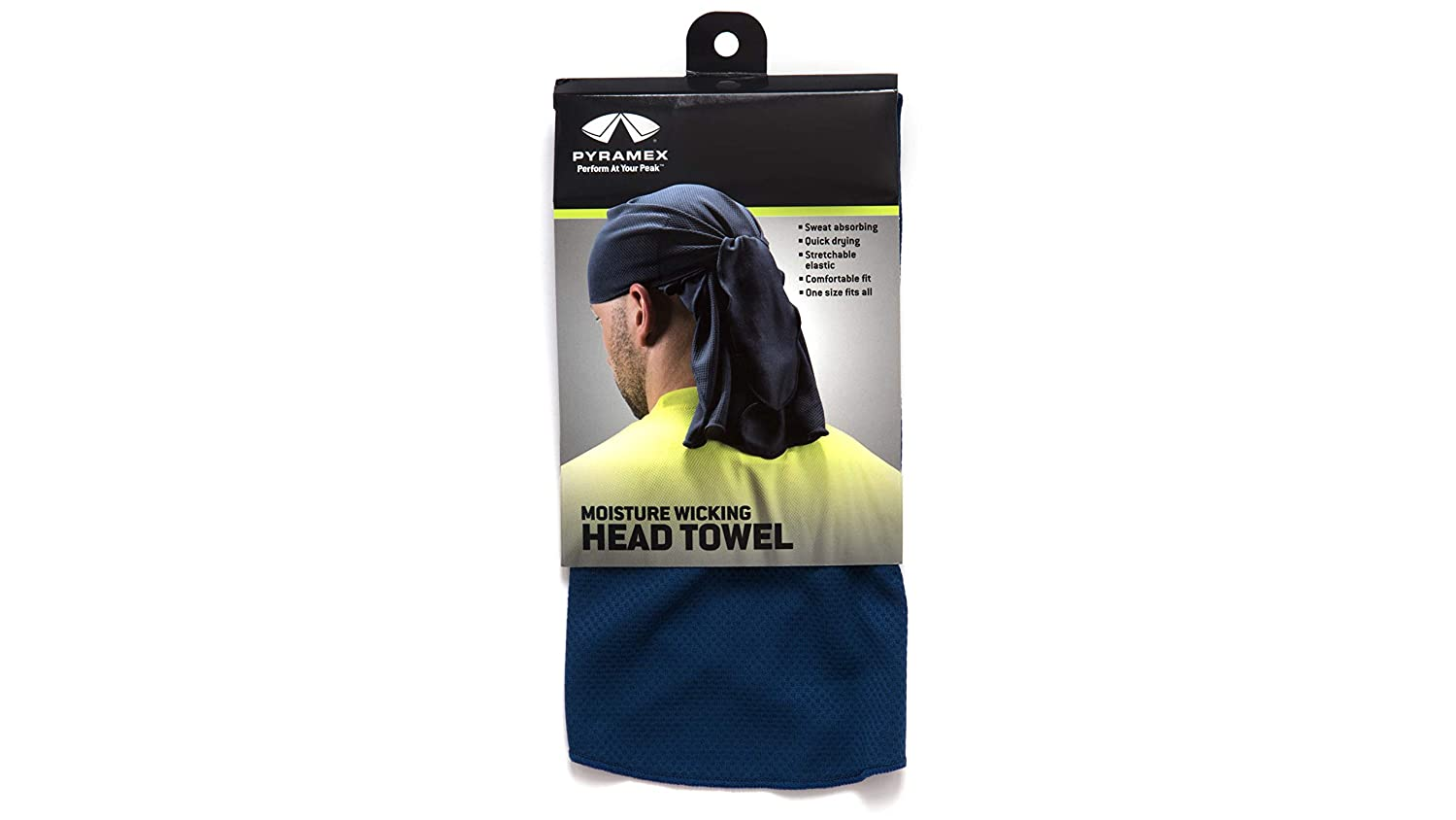 Pyramex Max 71% OFF CSKT260 Quality inspection Head towel - ties Blue with