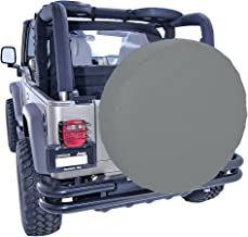 556 Gear Compass Geometric Mountain Scene Night Sky Travel Jeep RV Spare Tire Cover Black 35 in