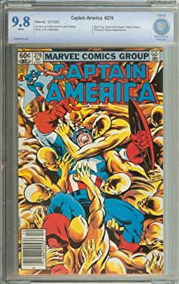 CAPTAIN AMERICA #276 CBCS 9.8 WHITE PAGES
